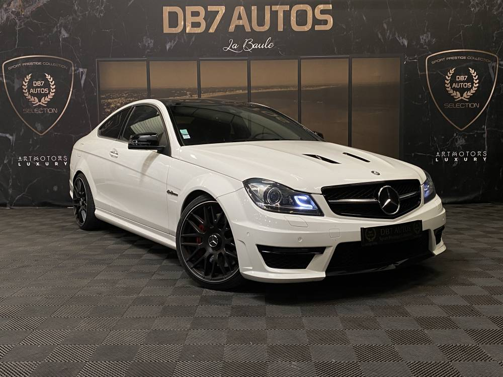 MERCEDES C63 AMG COUPE 507 EDITION V8 6.3 507 ch