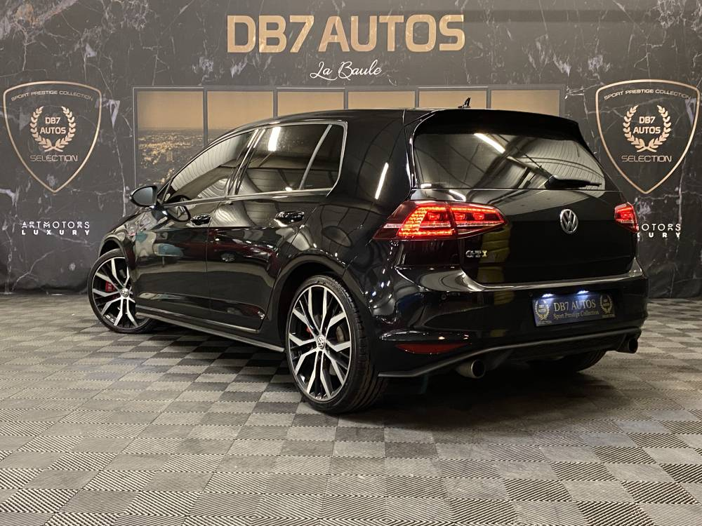 volkswagen golf 7 gti dsg pack performance 230 ch 2 0 230 ch nantes paris rennes angers